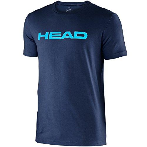 "Head Herren T-Shirt ""Transition Ivan"" navy/Turqouise"