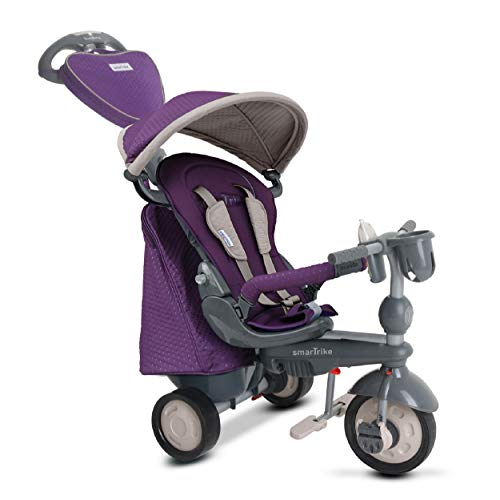 smartrike 8400400Baby Dreirad, Violett (Smartrike Kinder-dreirad)