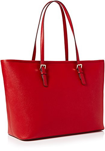 Michael Kors Jet Set Travel, Borsa Tote Donna, 43.2 x 29.2 x 12.7 cm (W x H x L) Rosso (Bright Red)