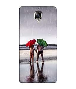Fuson Designer Back Case Cover for OnePlus 3 :: OnePlus Three :: One Plus 3 (round clock circle sea river lake )