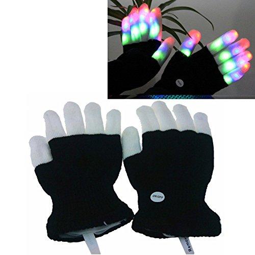 powerlead-g030-led-raving-gloves-flashing-finger-lights-7-colorful-rave-modes-fun-gift-for-children