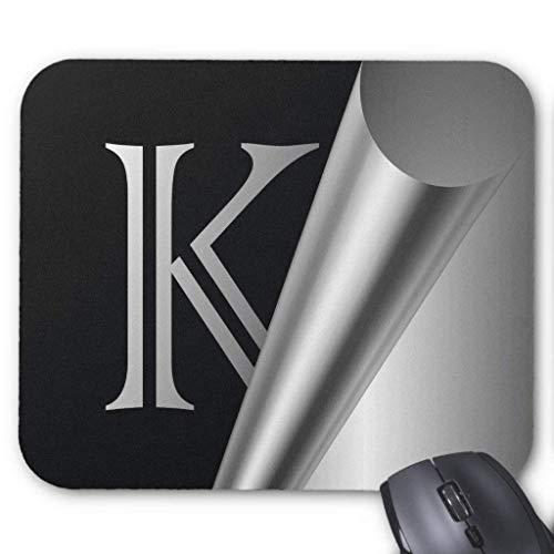 Steel Peel Monogram K Mouse Pad 18×22 cm