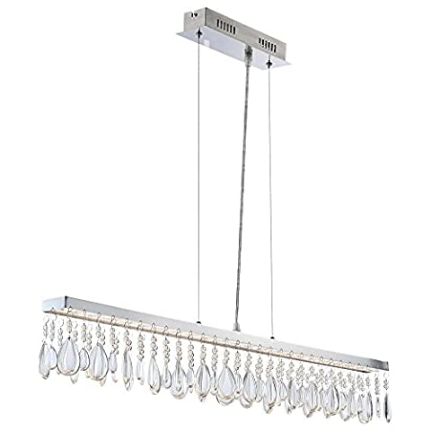 LED 25 Watt Hängeleuchte Esszimmer Lampe Deckenleuchte Pendelleuchte Globo MURIEL 67059-5H