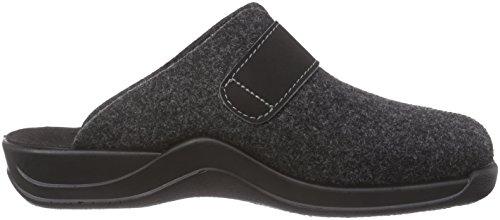 Rohde - Vaasa-H, Pantofole A Casa da uomo Grigio (Gris (82 Anthrazit))