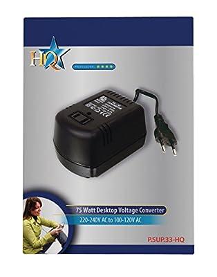 HQ P.SUP.33-HQ Convertisseur de tension 230 V vers 110 V 75 W par HQ - Chargeurs et alimentations