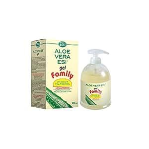 Esi Aloe Vera Gel con olio di Vitamina E e Tea Tree, 500 ml