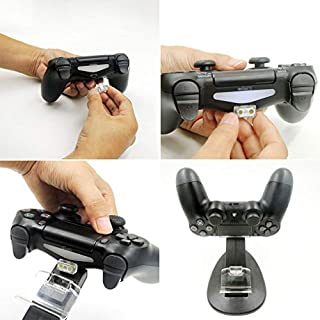 Providethebest Schnell-Ladestation Spielkonsole Controller-Ladestation für PS4 Pro Schlank Halten Griff Ständer