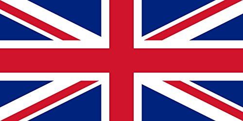 Shatchi 11658 Tischdecke, Motiv Großbritannien, Union Jack, UK-Nationalflaggen, Sportveranstaltungen, Kneipen, Grillen, königliche Themen, 90 x 150 cm, Rot / Blau / Weiß