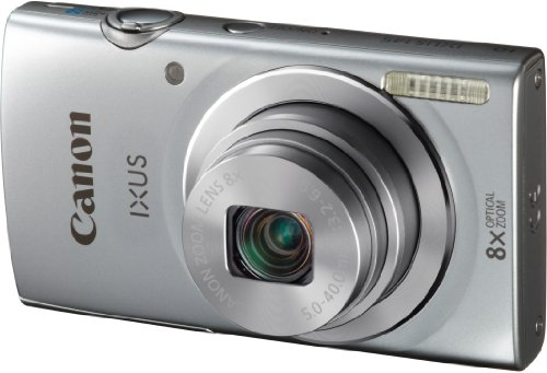 Canon IXUS 145 Digitalkamera (16 Megapixel, 8-fach opt. Zoom, 6,8 cm (2,7 Zoll) LCD-Display, HD-Ready) silber - 3