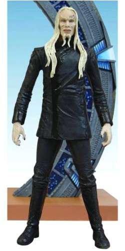 Preisvergleich Produktbild Stargate Atlantis Serie 1 Wraith Male 18cm Actionfigur