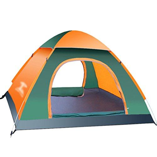 Dooxi 2-3 Personen Freistehendes Kuppelzelt Wasserdicht Pop Up Strand Camping Zelte mit Doppel-Tür
