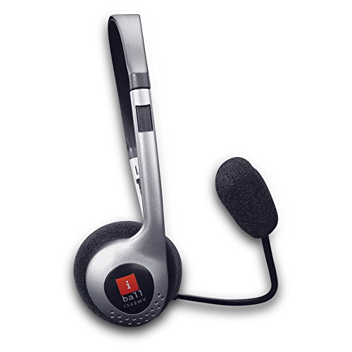 iball I342Mv On-Ear Headphone with Mic 41m 2BeUEnJZL