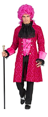 Karneval-Klamotten Barock Kostüm Herren Renaissance Kostüm Herren Rokoko Herren-Kostüm pink...