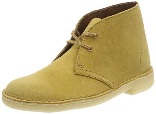 Clarks Originals Damen Boot-26138224 Desert Boots, Beige (Oak Suede), 42 EU (Clark Boot Wildleder)