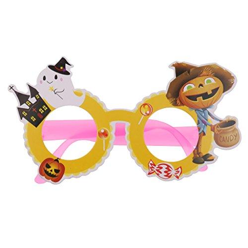 Baoblaze Halloween Spaßbrille Partybrille für Erwachsene und Kinder - Modell 3