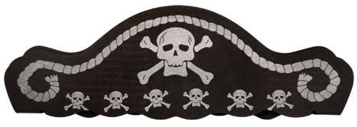 Totenkopf Kreuz & Knochen-Ideal für alle Altersgruppen (Caribbean Pirate Girl Kostüme)
