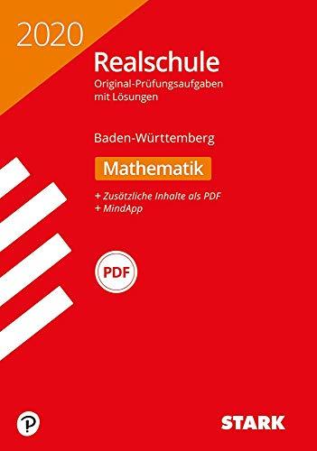 STARK Original-Prüfungen Realschule 2020 - Mathematik - BaWü