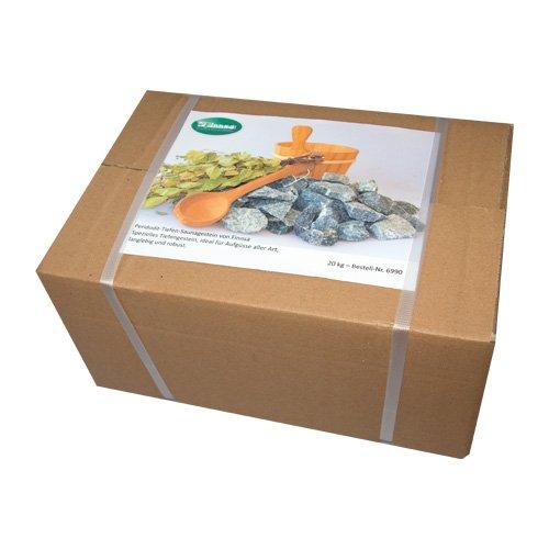 Saunasteine - Das Herz des Saunaofens in verschiedenen Ausführungen (20kg, große Steine)