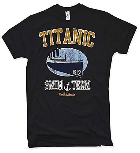 Titanic Swim Team T-Shirt, Oldschool, Retro, Gr. S - XXL - Swim-team T-shirts