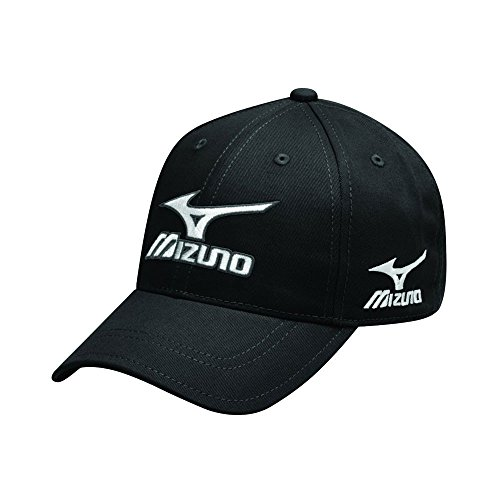 Mizuno Men's Tour Adjustable Cap - Black  available at amazon for Rs.1090