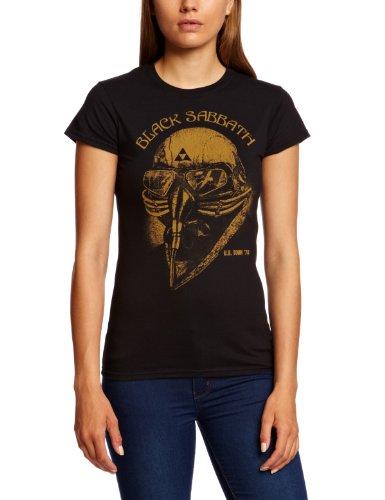 Bravado Damen T-shirt   - Schwarz - Black - Medium (Herstellergröße: Medium)