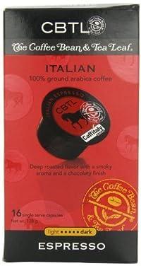 CBTL Italian Espresso Capsules, 16 count (Pack of 6)