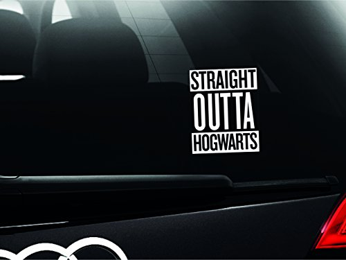 Price comparison product image Harry Potter - Straight Outta Hogwarts Car Bumper Window Sticker