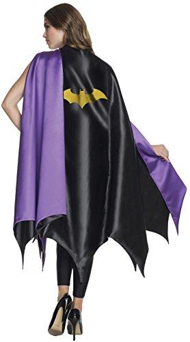 Batgirl Umhang - Einheitsgröße Erwachsene