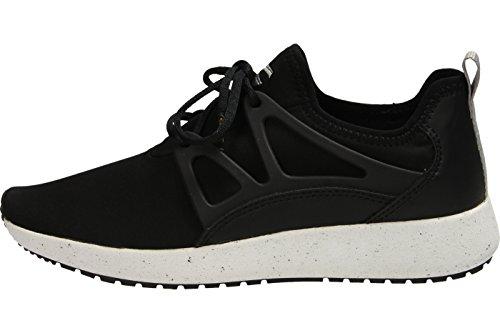Camel Active Spring 71, Sneakers Basses Femme Noir (Black 03)