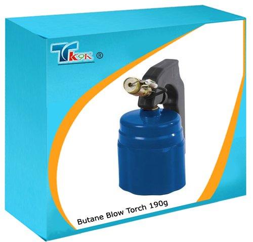 Rohrleitungen-Gas Butan Torches Lampe 190g D Piezozünder, Flamme und Knopf aus hochwertigem Messing für eine Verwendung mit der Verbrennung zweiten Alter Standard perçable 190g Gas. (Gas-rohrleitungen)