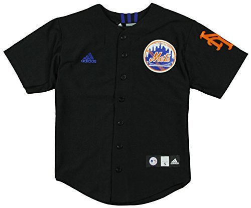 huge selection of a48e6 6127d Adidas Performance New Jersey Mets Mlb Youth Boys Baseball ...