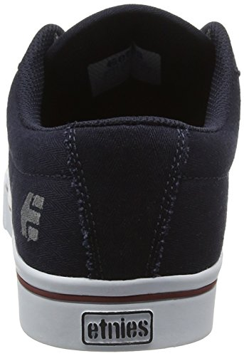 Etnies Jameson 2 Eco, Chaussures de Skateboard Homme Bleu - Blau (NAVY/WHITE / 472)