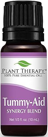 Tummy Aid Synergy Essential Oil Blend 10 ml 100% Pure,