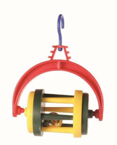 Trixie Vogelspielzeug Rolle mit Glocke, 4cm