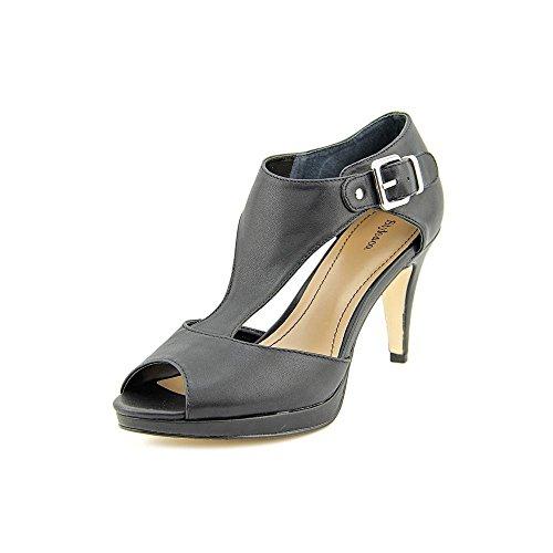 Style & Co Bethanee Synthetik Sandale Black