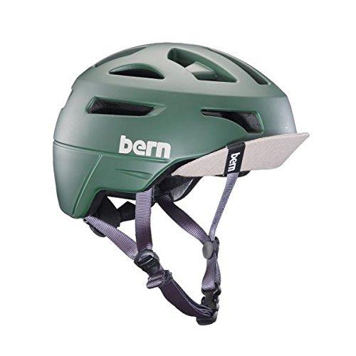 Bern Union Matte Hunter Green w/Flip Visor-Small Casque vélo Homme, Vert, GR. S (52-55,5cm)