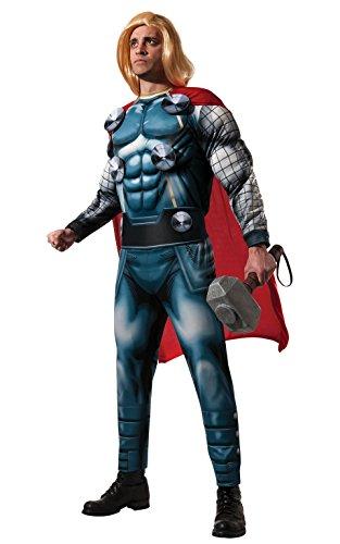 Erwachsenen Marvel Thor Deluxe Kostüm –Standard (Thors Kostüme)