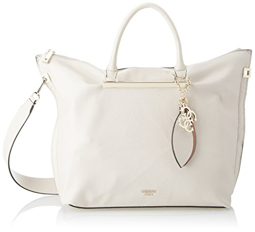 Guess Damen Bags Hobo Shopper, Grau (Stone), 12.5x33x41 centimeters (Hobo Taschen Guess)