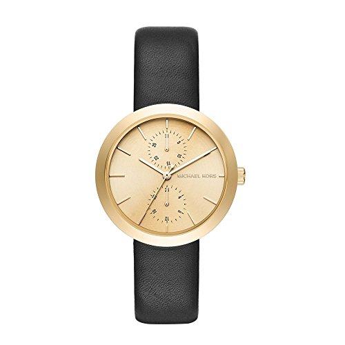 michael-kors-damen-armbanduhr-analog-quarz-one-size-champagner-schwarz