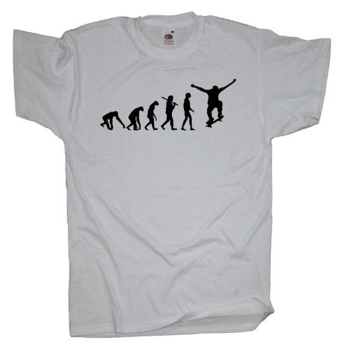 Ma2ca - Evolution - Skateboarder T-Shirt White