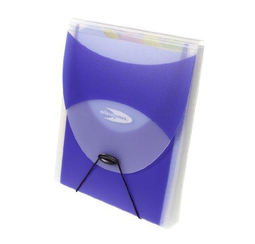Big Mouth Vertical Filer Organizer, Jacket, 10 x 12, Poly, Dark Blue