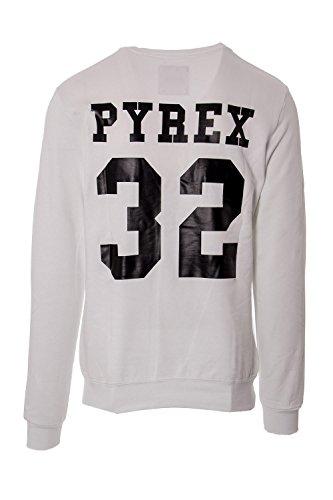 PYREX - Pyrex unisex pullover sweatshirt hoodies 33503 Bianco