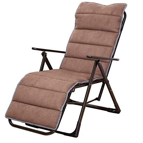 iBaste Stuhlkissen 15849cm aus Wildleder Faltbare Verdickte Rutschfeste Abhnehmbare Matte für Rattan Stuhl Rattan-Stühle Korb-Stuhl Korb-Sessel (Stuhl-matte Faltbarer)