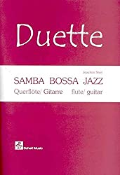 Samba-Bossa-Jazz (mit Play-Along-CD) - für Querflöte und Gitarre