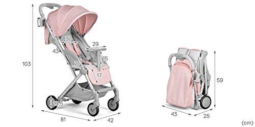 Cochecito Kinderkraft Pilot ligero para bebés