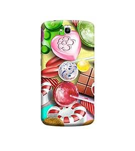 Ebby Premium 3d Desinger Printed Back Case Cover For Huawei Honor Holly (Premium Desinger Case)
