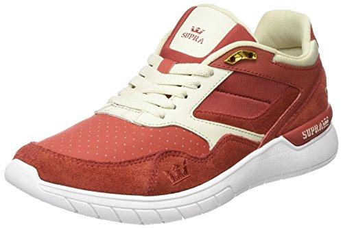 Supra Herren Winslow Sneaker, Rot (Cayenne/Bone-White), 45.5 EU Supra Schuhe Sneaker Herren Rot
