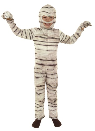 joker M054-001 - Costume Mummia, Bianco, Taglia 1, 5/7 Anni