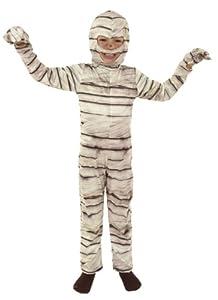 Cesar - Disfraz de momia para niños (de 5/7 años)