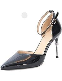 ... sportive   Sandali sportivi   emili. GTVERNH Moda Scarpe da donna 9Cm  Tacco Alto Figo Estate di Moda Magra E d94ac6c99ad